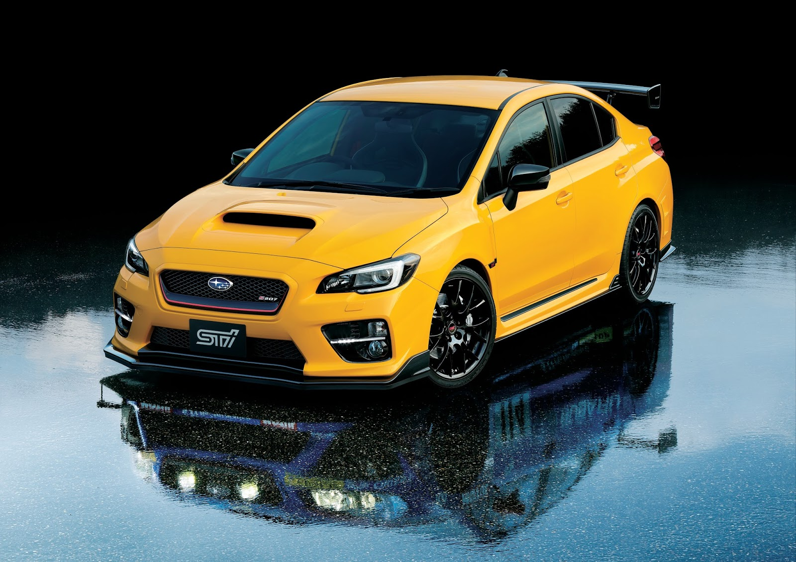 subaru turns the wick on wrx sti with 328ps s207 limited edition carscoops. Black Bedroom Furniture Sets. Home Design Ideas