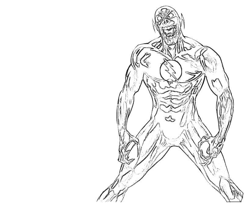 flash running coloring pages dudeindisneycom - Flash Running Coloring Pages