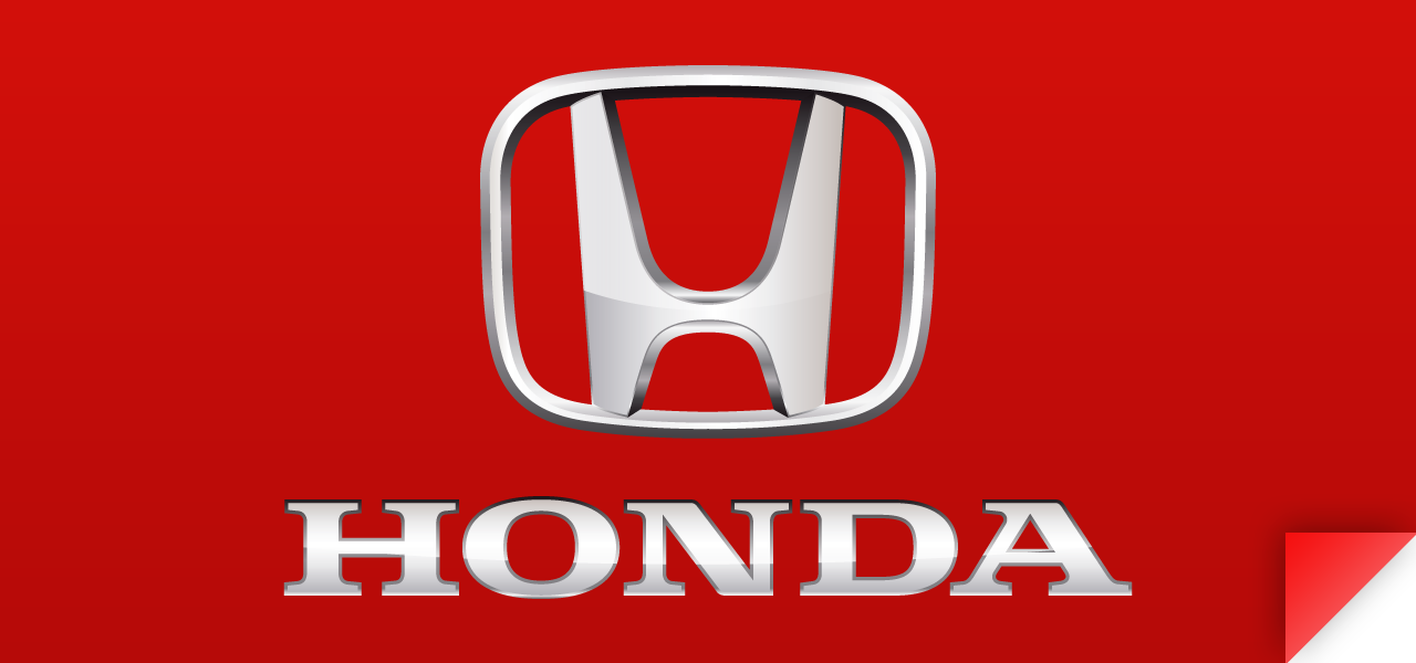 Honda Logo for ... Red Honda Emblem