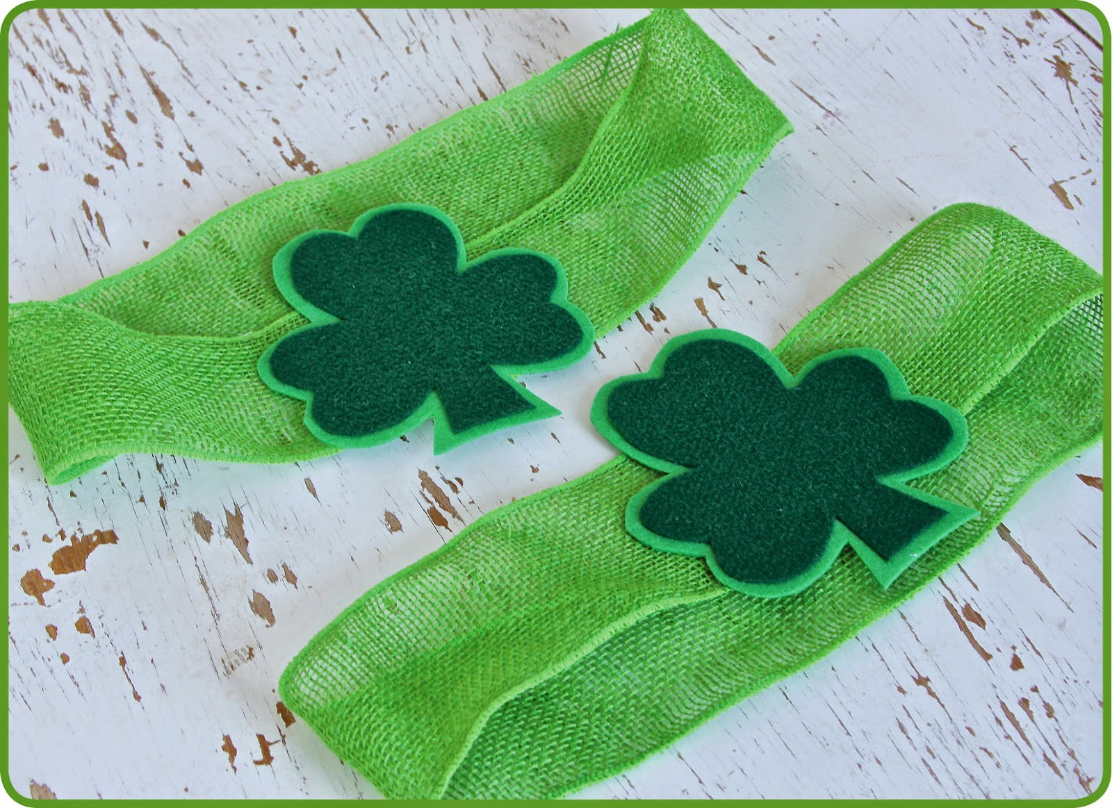 St. Patrick's Day Table Decoration