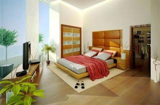 Bedroom-Decorating-Ideas-Ornamental-Plants