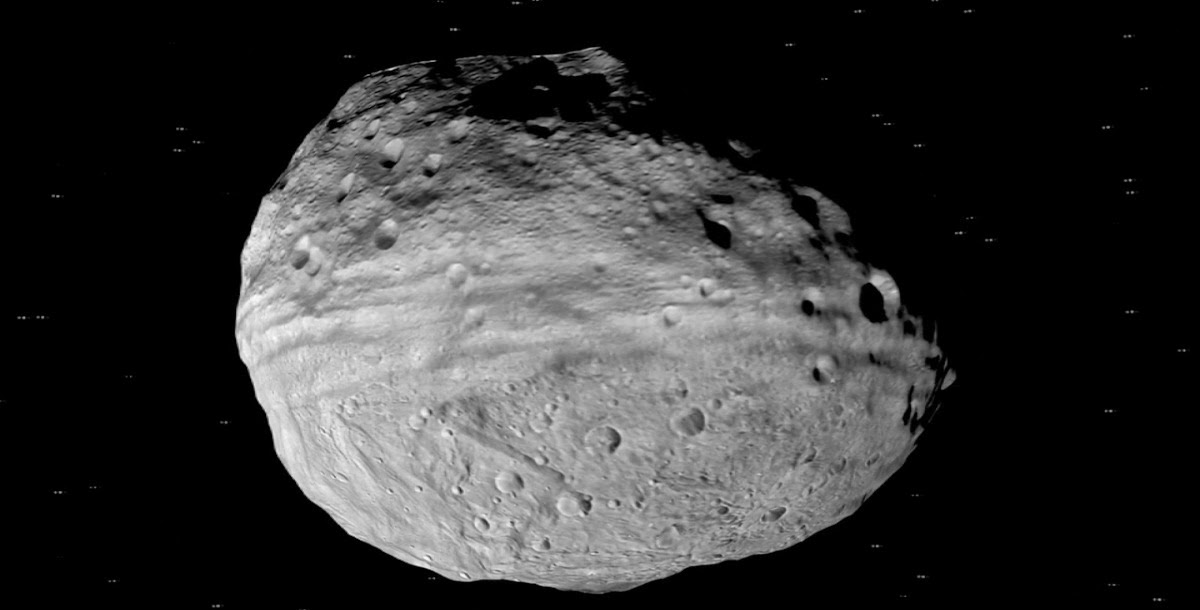 Vesta Trek's interface allows explorers to fly around and even skim the surface of Vesta. Image credit: NASA