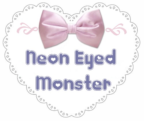 Neon Eyed Monster