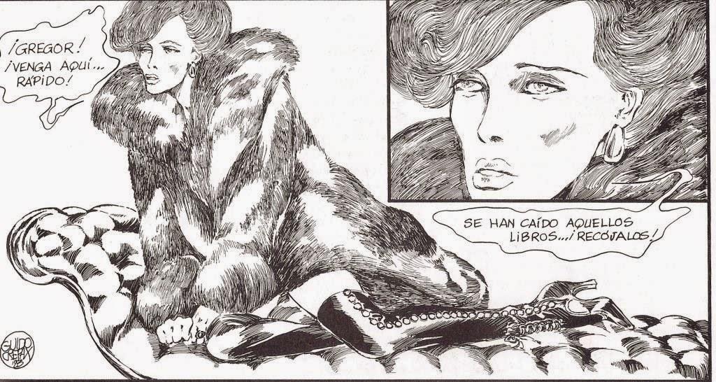 guido crepax venus pieles fur fourrure pelz sacher masoch
