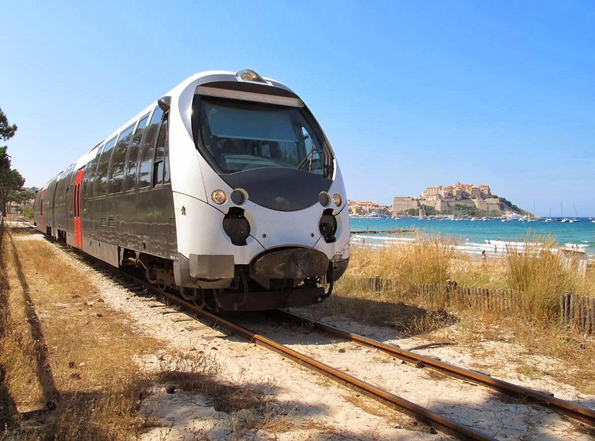 Train Calvi © Luc Beaumadier