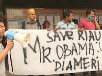Warga Riau Surati Presiden AS Barack Obama, Tolak Kedatangan Presiden Jokowi