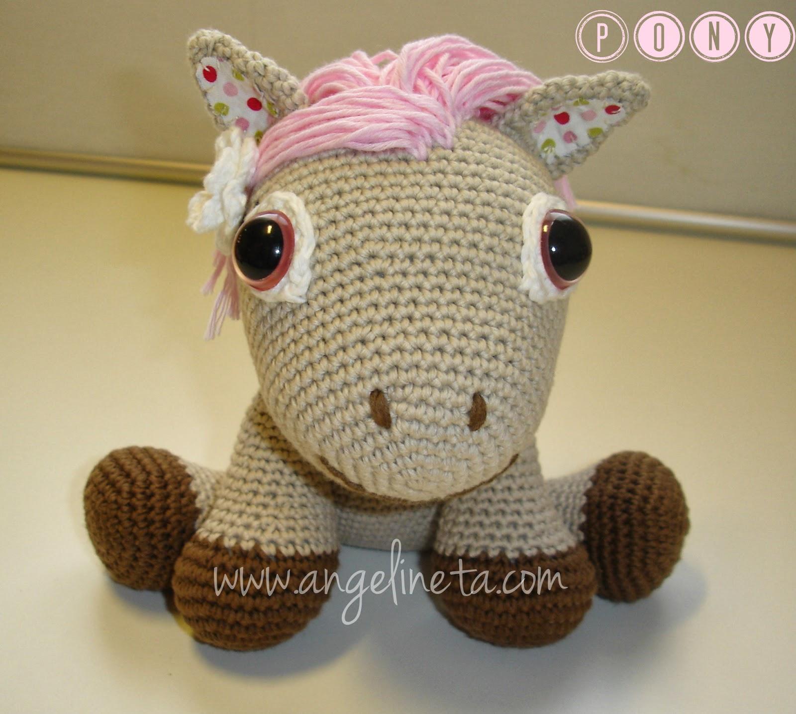 Ponytail Amigurumi : Angelineta: Pony amigurumi