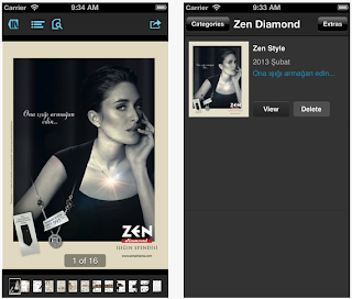 Zen Pırlanta iPhone - iPad uygulaması