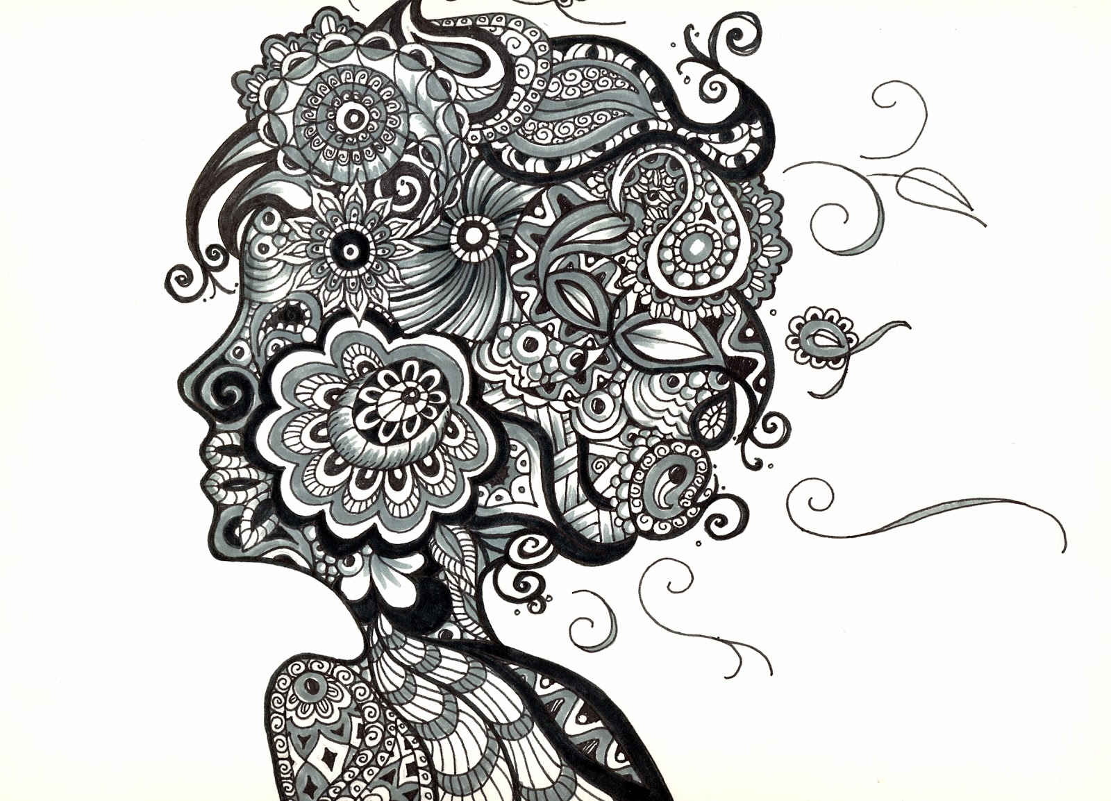 Gallery For gt Zentangle People