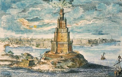 As 7 Maravilhas do Mundo Antigo - 7º O Farol de Alexandria