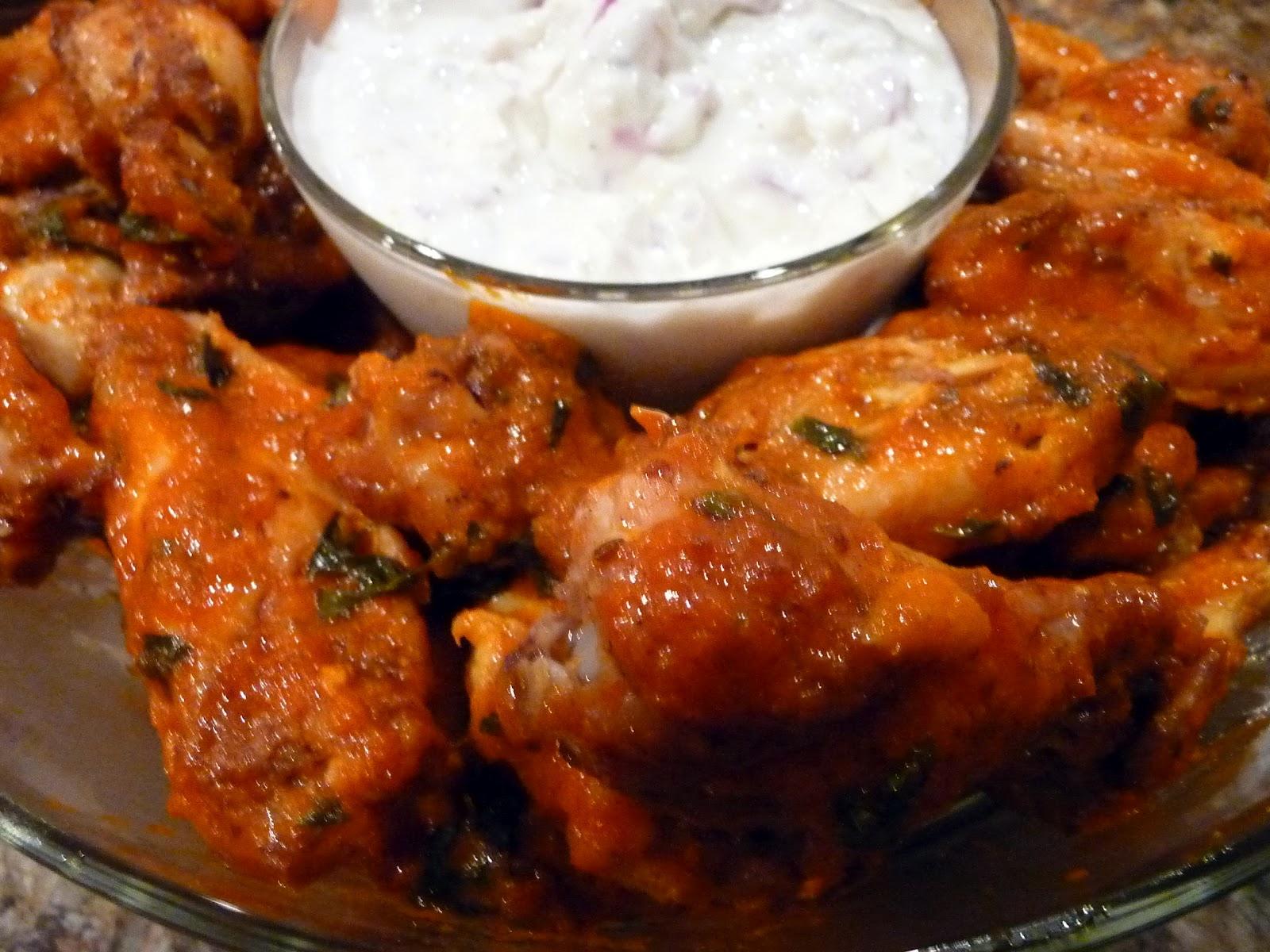 Chef Bolek: Spicy Sriracha Chicken Wings