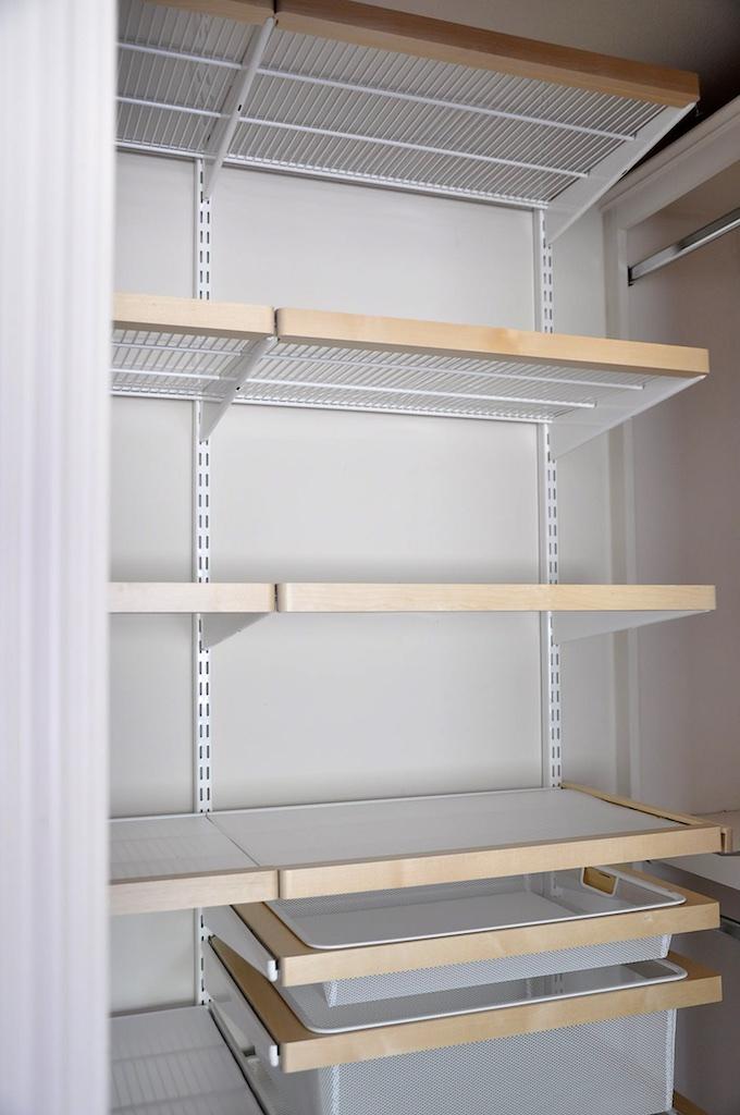 elfa mesh drawers installation 3