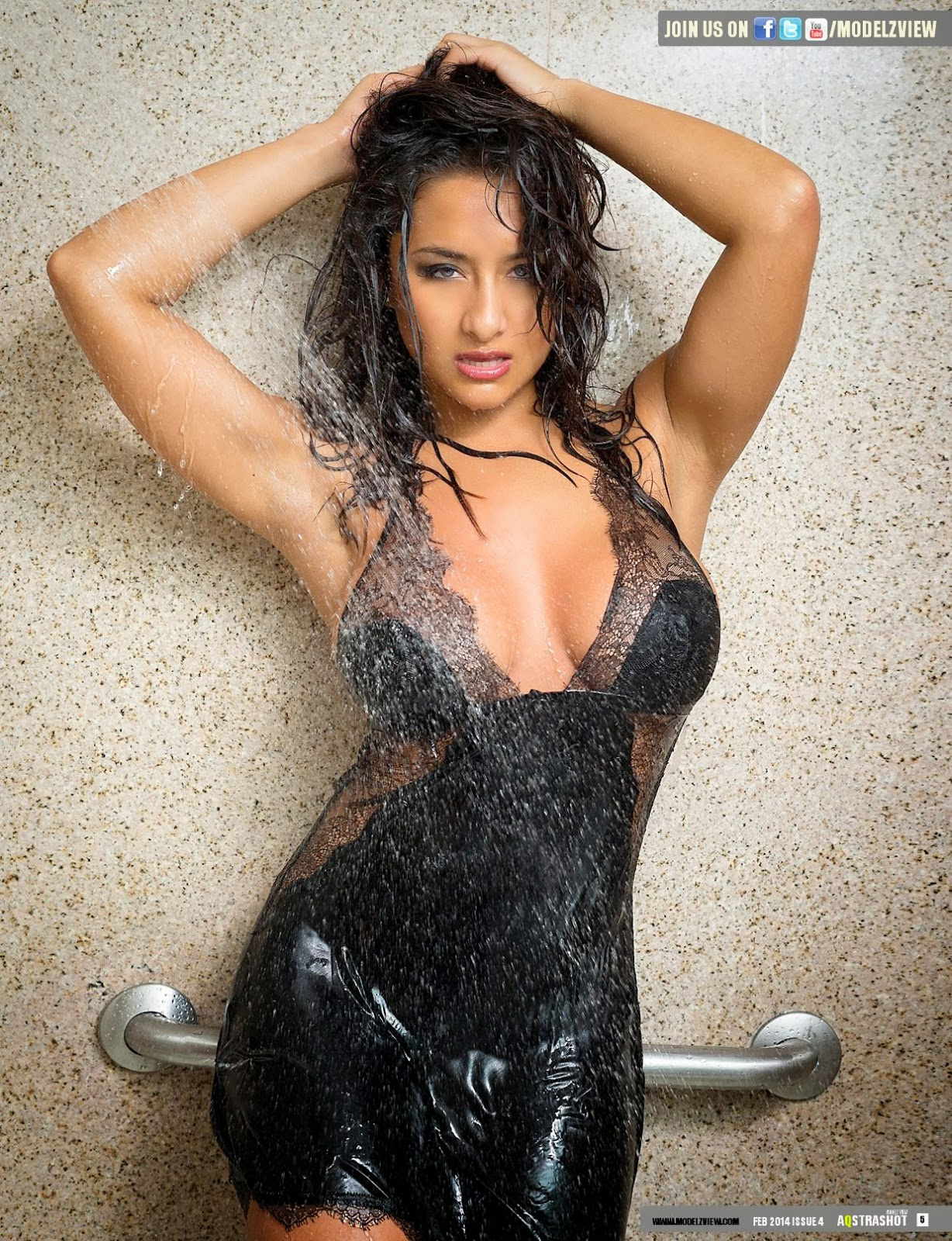 Nikki Rae HQ Pictures Aqstrashot Magazine Photoshoot February 2014