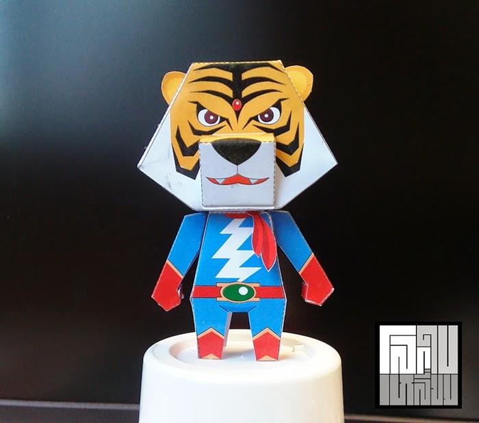 Tetsujin Tiger Seven Papercraft