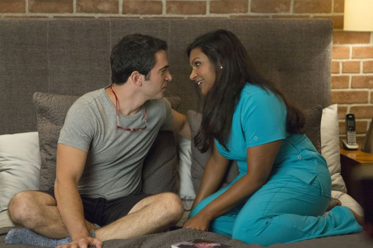 The Mindy Project - Episode 3.01 - We're A Couple Now, Haters! - Promotional Photos