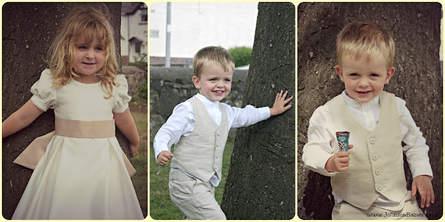 Johnson Babies are christened
