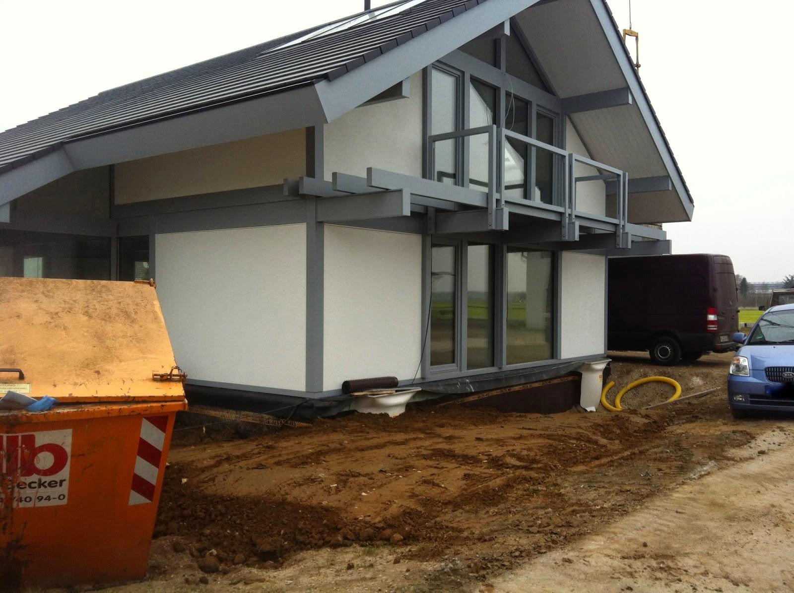 Unser Hausbau mit Davinci Haus: Februar 2015