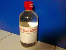 Lem Solvent Acrylic Super Glue