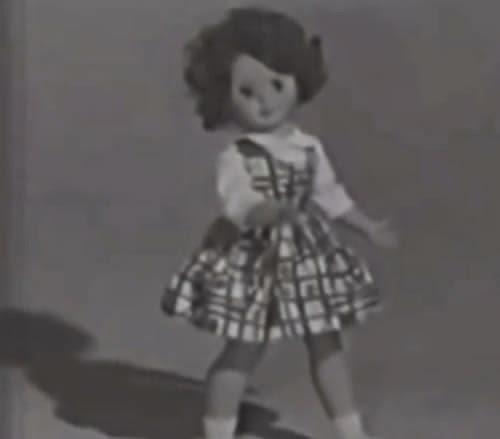 Propaganda da Boneca Pierina da Brinquedos Trol, apresentada em 1961.