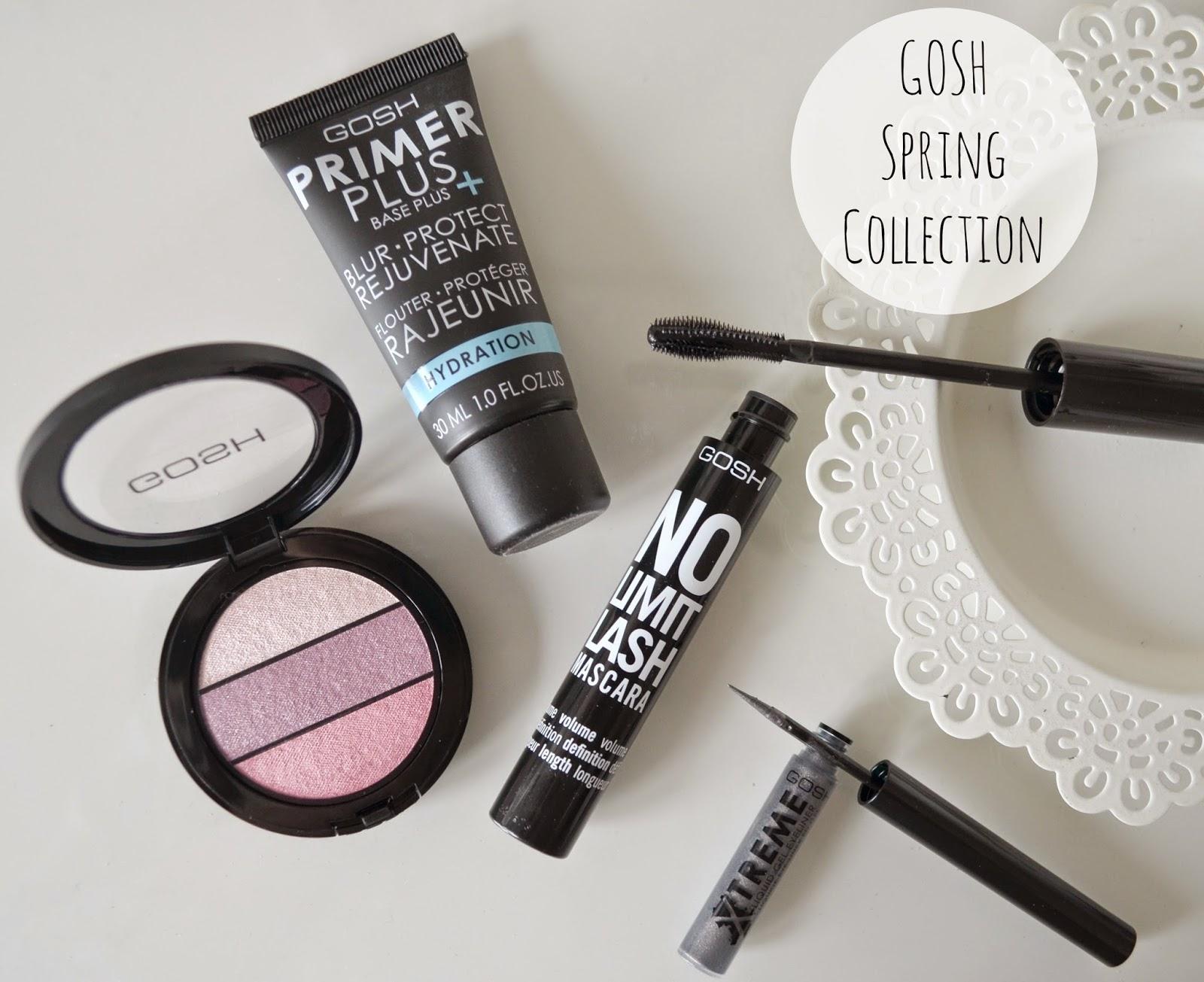 GOSH Spring makeup