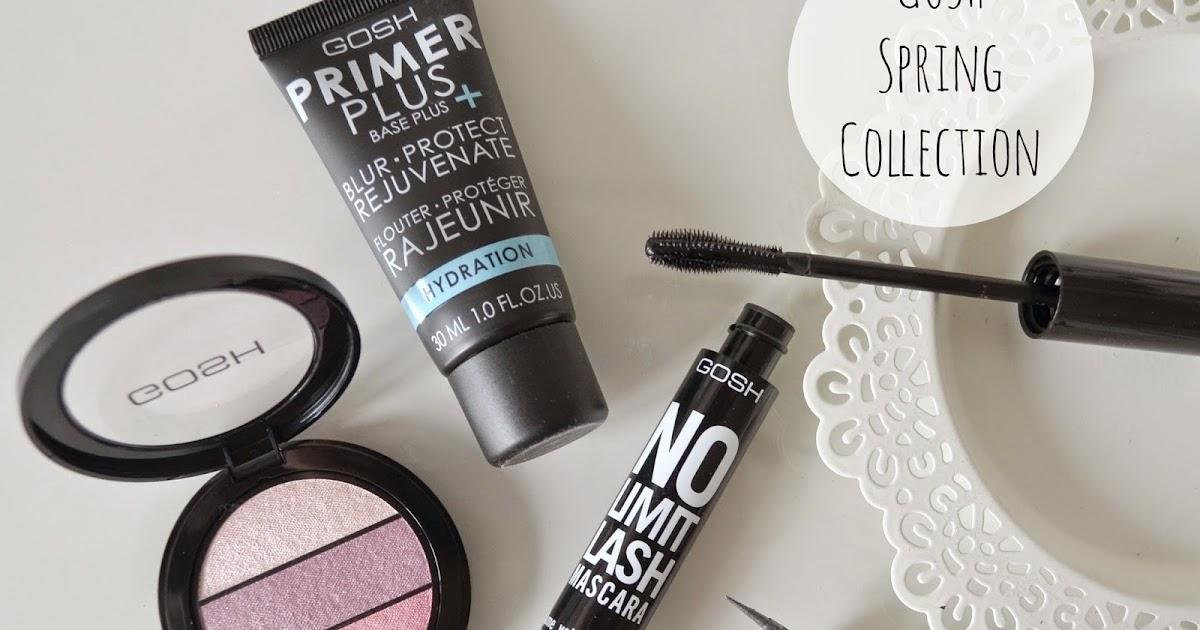 GOSH Spring Makeup | Blog Me Beautiful