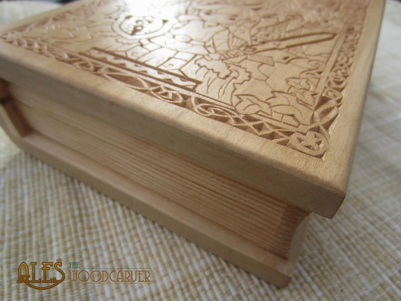 Ales the woodcarver legend of zelda trinket box