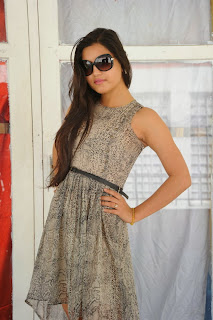 Actress Shipra Gaur Pictures in Short Dress at Root Film Creations Opening  0009
