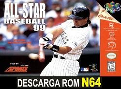All-Star Baseball 99  64 ROMs Nintendo64