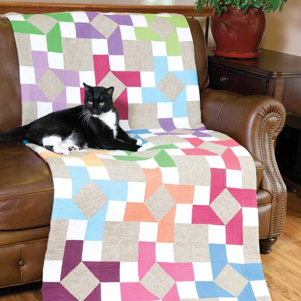 Make It Blossom by Sandra Clemons: McCall's Quick Quilts Magazine ... : quick quilt magazine - Adamdwight.com