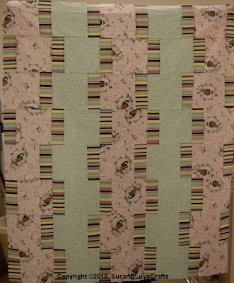Jodie's Up &amp; Down quilt top