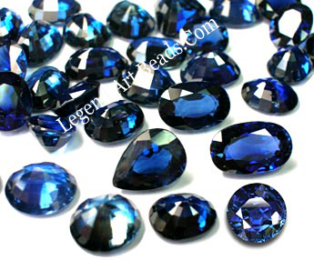 Blue Color Gemstone