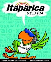 ouvir a Rádio Itaparica FM 91,3 ao vivo e online Salvador