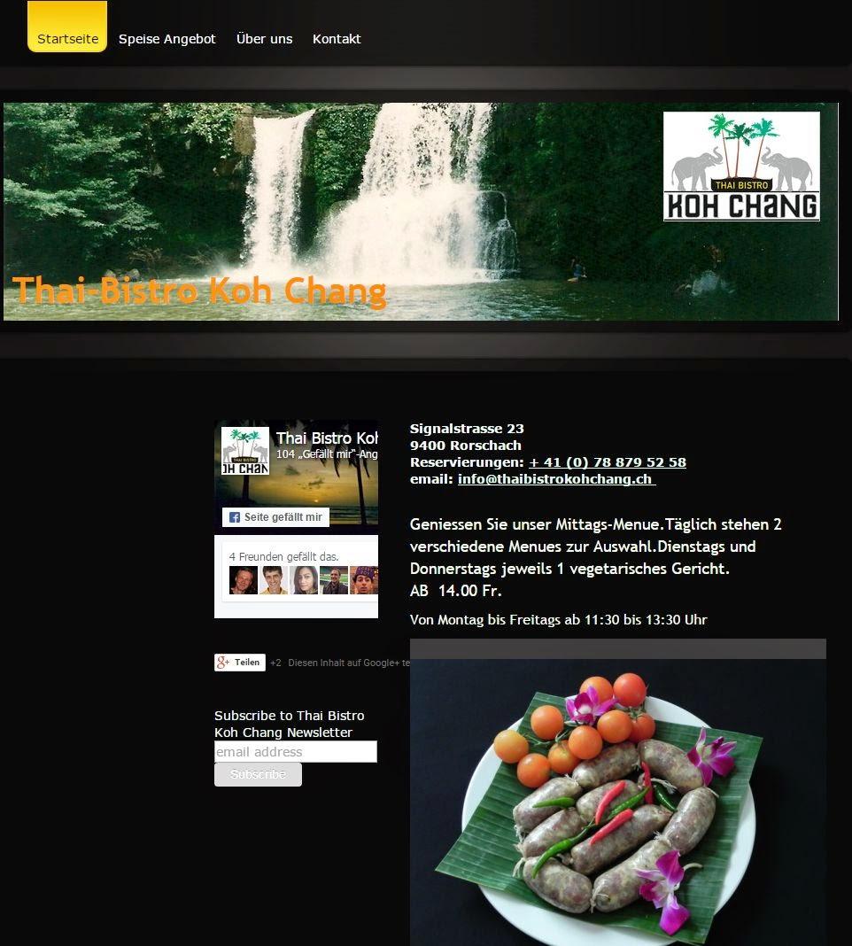 Der Link zur eigenen Homepage