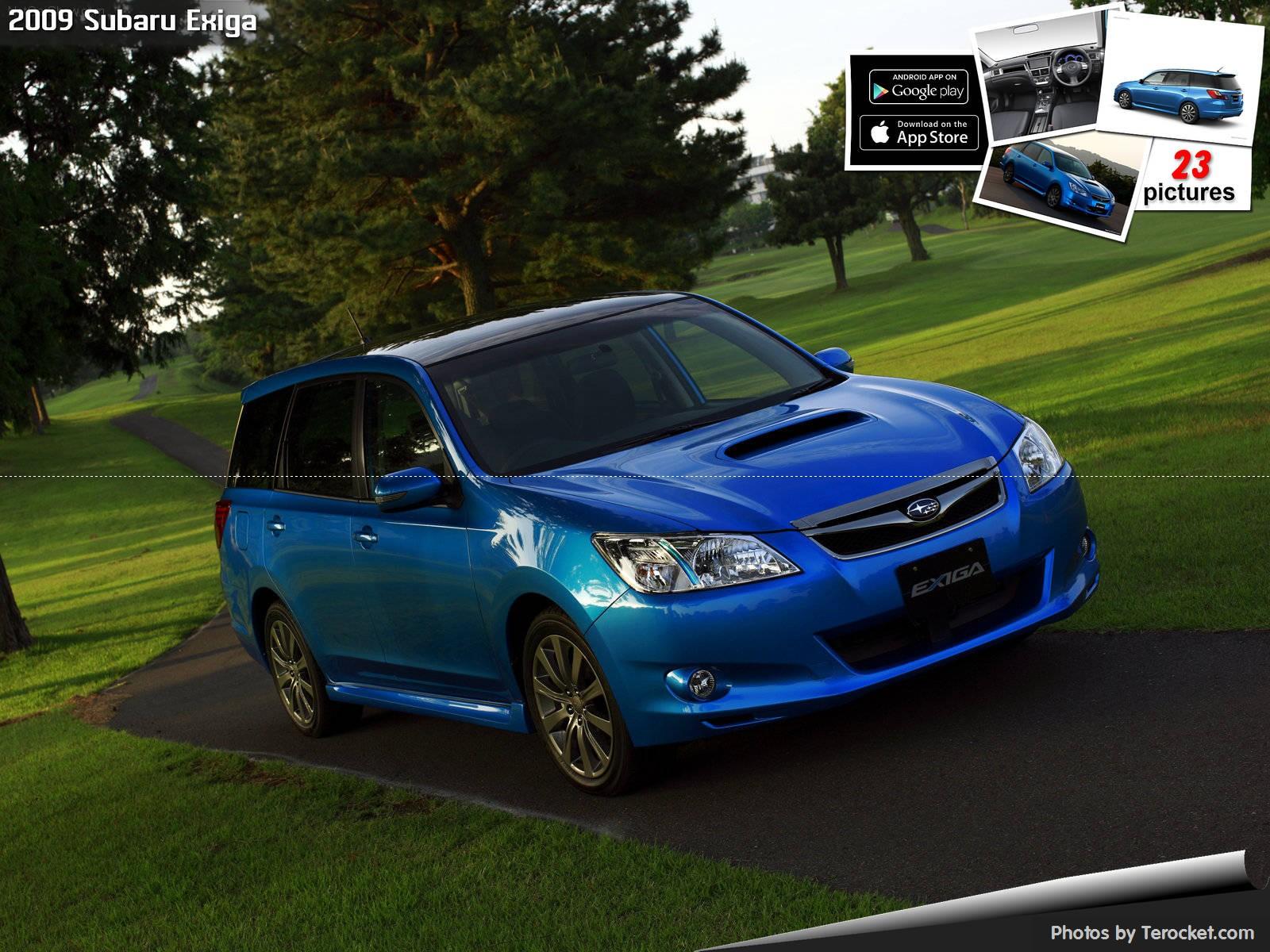 Hình ảnh xe ô tô Subaru Exiga 2009 & nội ngoại thất