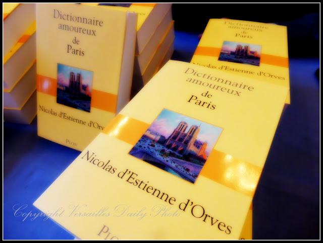 Dictionnaire amoureux de Paris D'Estienne d'Orves