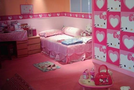 Habitaciones con Hello Kitty - Dormitorios colores y estilos