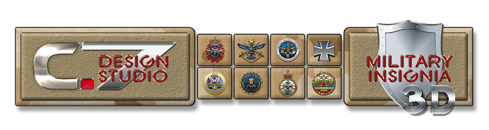 Military Insignia 3D