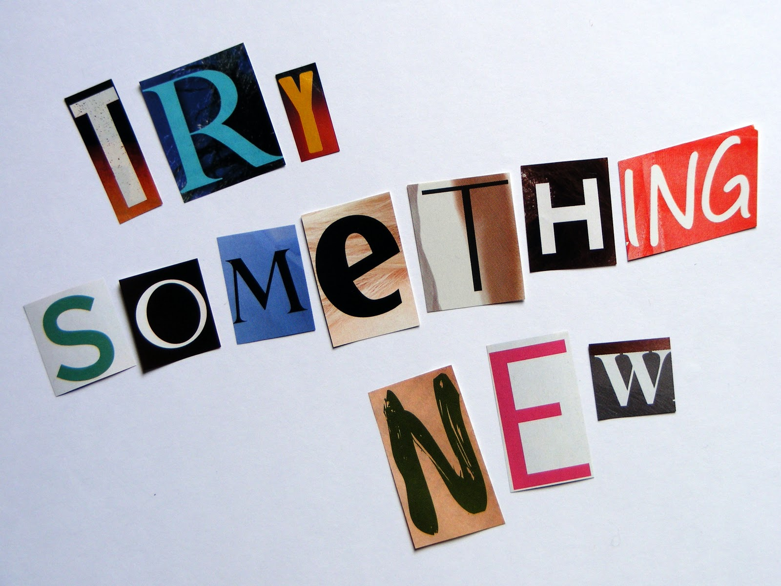 Try Something New Quotes. QuotesGram  Try Word