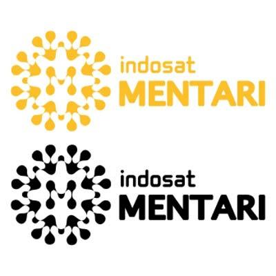 Logo Mentari Baru Vector Indosat