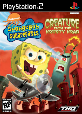 Bob Esponja Calça Quadrada: Creature From The Krusty Krab (PS2) 2006