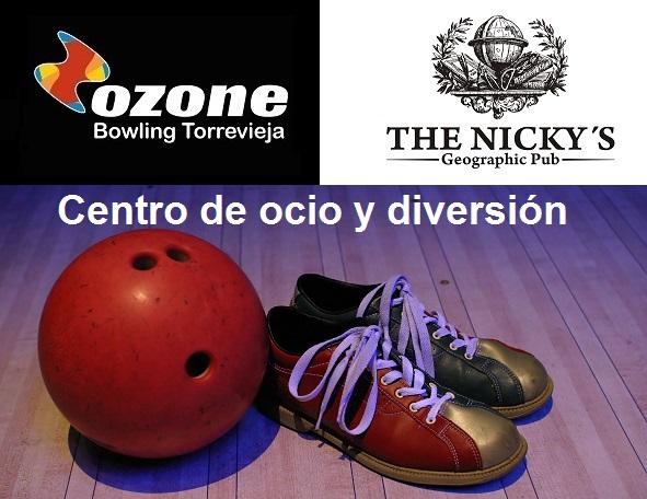 Centro de ocio y diversión Ozone bowling Torrevieja