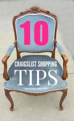 10 secrets for buying the best furniture on Craigslist! Tip #5 is GENIUS!