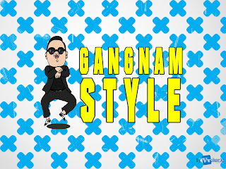 Psy Gangnam Style Poster HD Wallpaper designed by Vvallpaper.Net