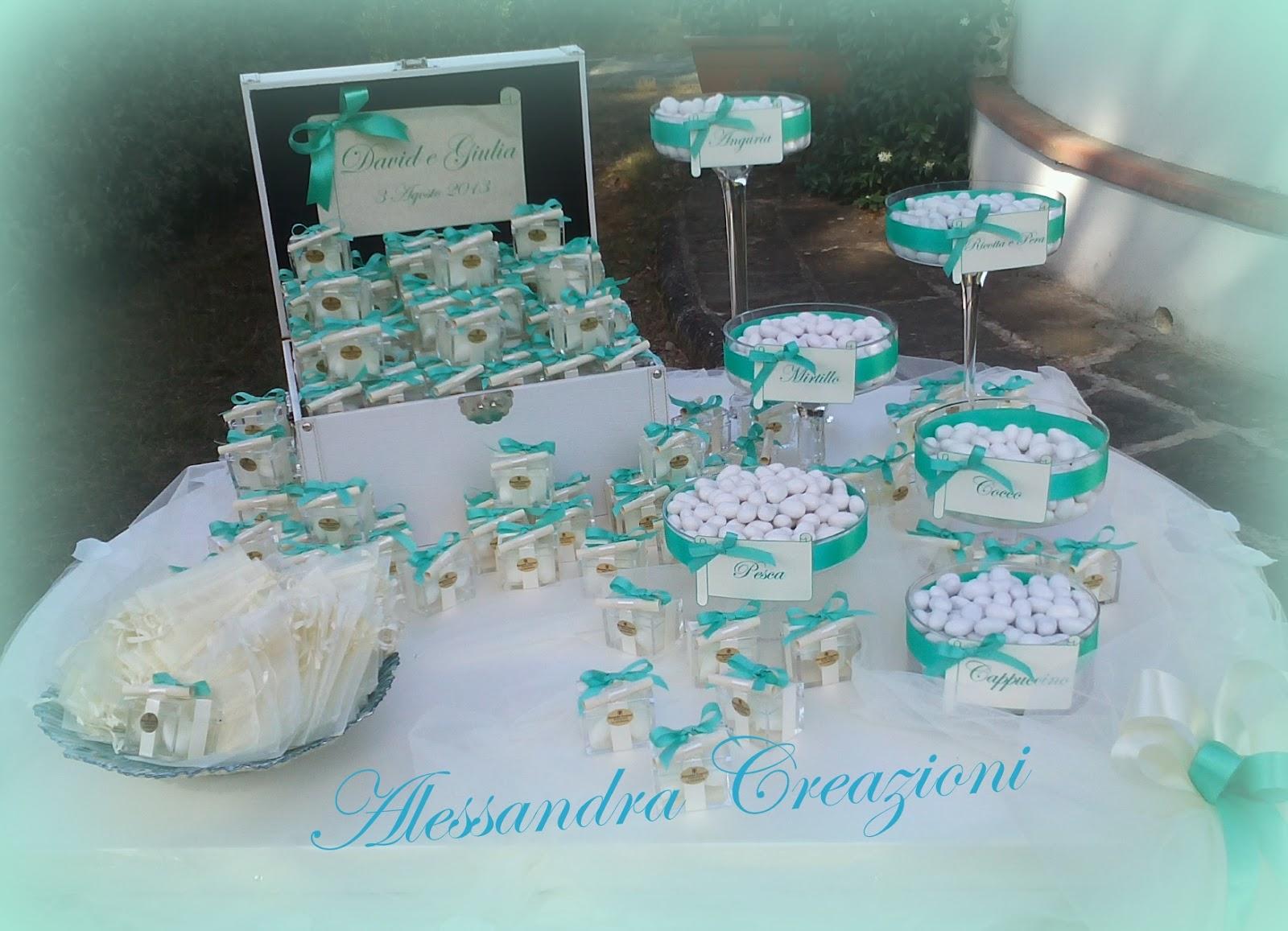 Addobbi Matrimonio Azzurro Tiffany : Alessandra creazioni settembre
