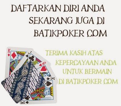 Batikpoker Situs Online Uang Indonesia Asli