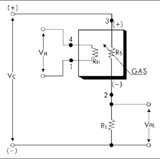 circuit TGS2620