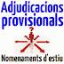 Calendari d'actuacions en relació amb els procediments de confecció de plantilles i provisió de llocs mitjançant adjudicacions provisionals curs 2014-2015