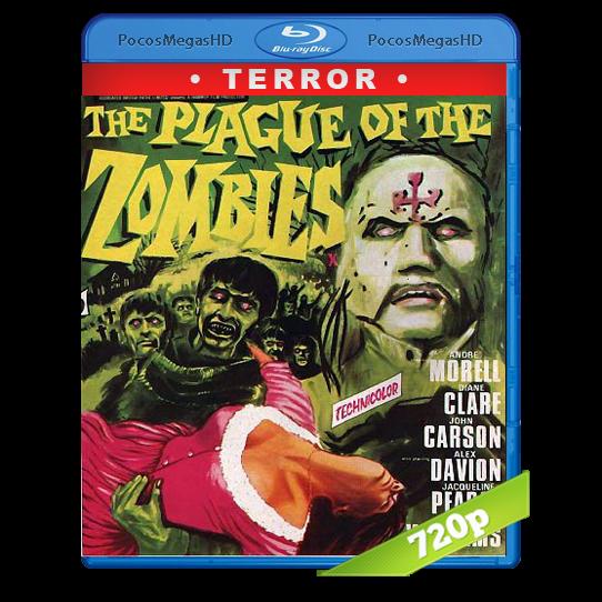 La maldición de los zombies (1966)  BrRip 720p Inglés AC3+subs