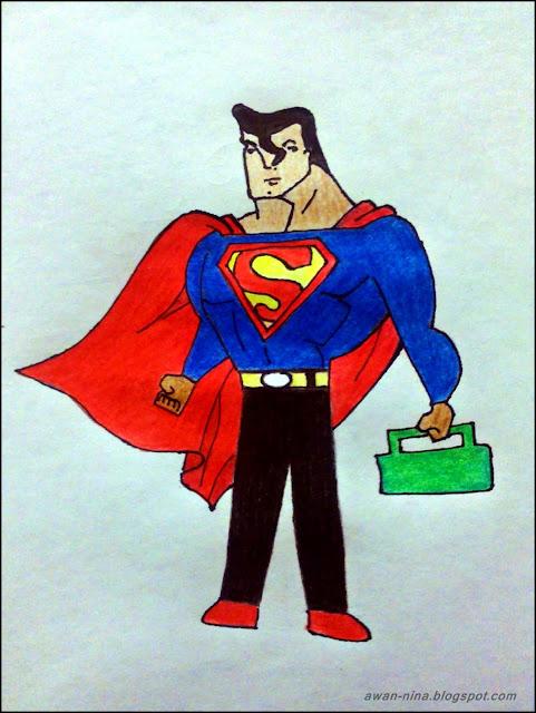 superman pakai seluar tak ketat