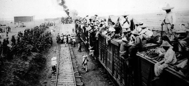 Ferrocarriles en la Revolución